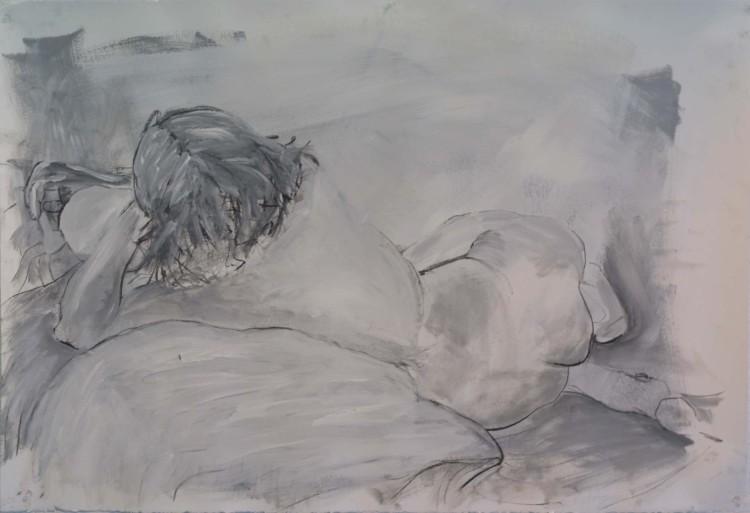 Laying Figure Study
